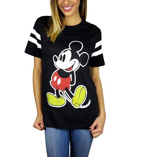 Mickey Mouse Varsity Jersey for Ladies