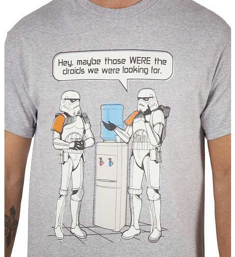 StormTrooper Droids Watercooler Star Wars Shirts
