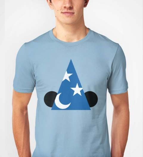 Wizard! Mickey Mouse Shirt