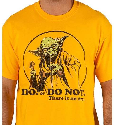Yoda Do or Do Not! Star Wars Shirt