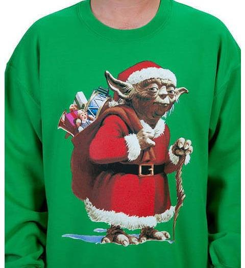 Yoda Star Wars Ugly Christmas Sweater