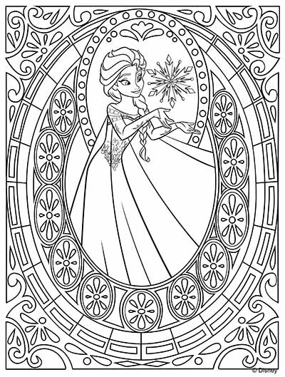 101 Frozen Coloring Pages December 2017 Edition Elsa coloring