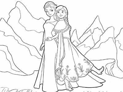 101 Frozen Coloring Pages (Sept 2019 Edition) - Elsa ...