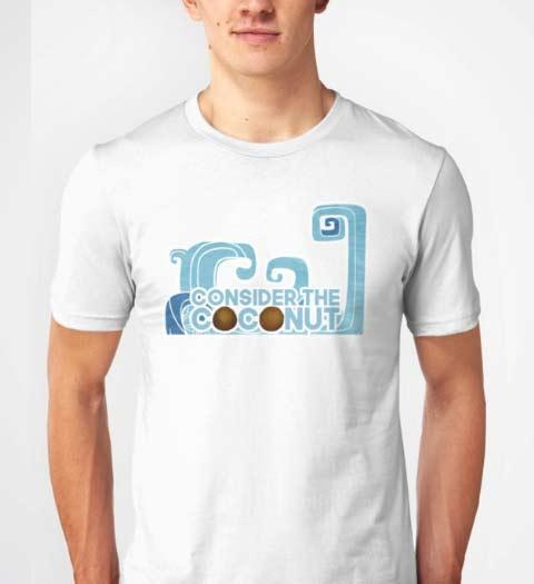 Consider the Coconut Moana T-Shirt