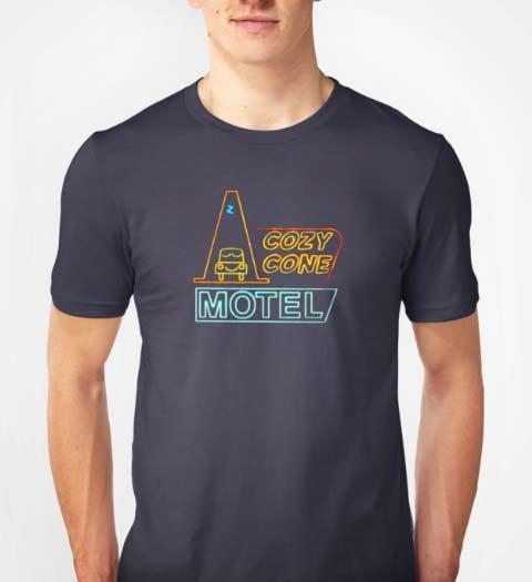 Cozy Cone Motel Cars Movie Shirt
