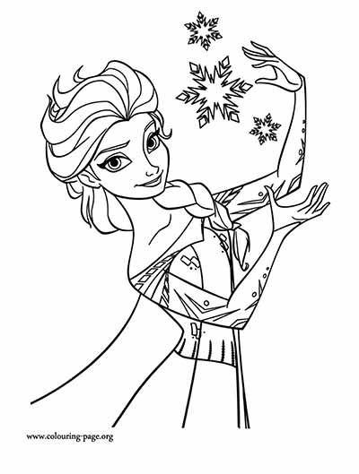 101 Frozen Coloring Pages (July 2019 Edition)