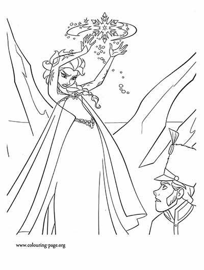 101 Frozen Coloring Pages (August 2018 Edition) - Elsa coloring pages