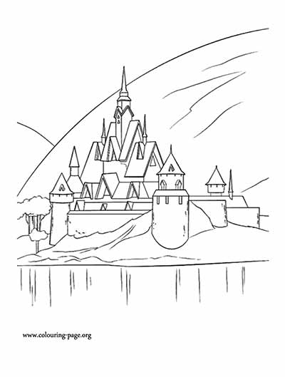 Frozen Arendelle Coloring Pages