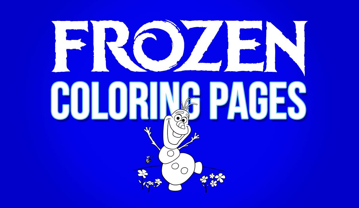 101 Frozen Coloring Pages April 2018 Edition