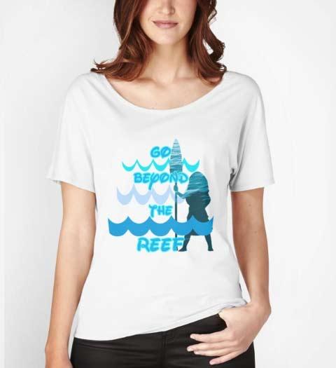 Go Beyond the Reef: Moana Shirt