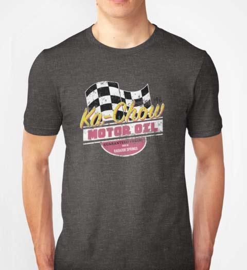 Kachow Motor Oil Cars Movie Shirt