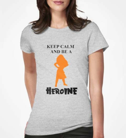 Keep Calm and Be a Heroine Moana Shirt