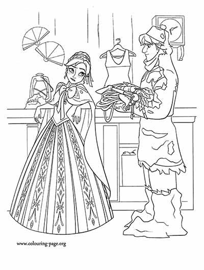 101 Frozen Coloring Pages (August 2018 Edition) - Elsa coloring pages
