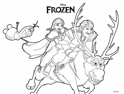 101 Frozen Coloring Pages (October 2018 Edition) - Elsa coloring pages