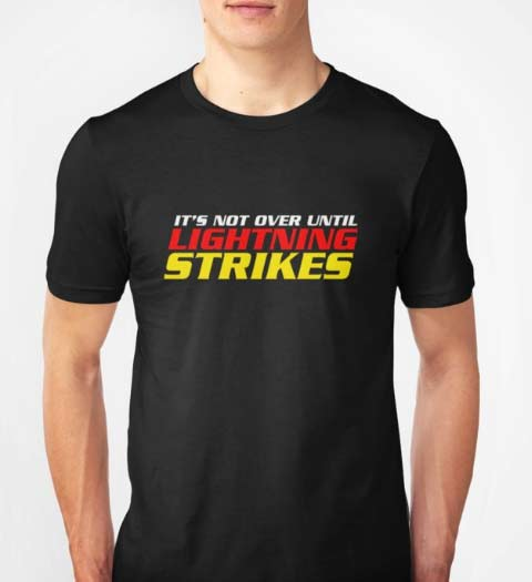Lightning Strikes Cars 3 Movie Shirt