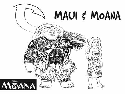 59 Moana Coloring Pages April 2019 Maui Coloring Pages Too