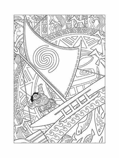 59 Moana Coloring Pages November 2020 Maui Coloring Pages Too