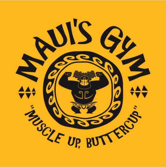 Maui's Gym: Moana Shirt