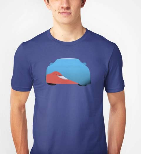 Lightning McQueen Cars Shirt