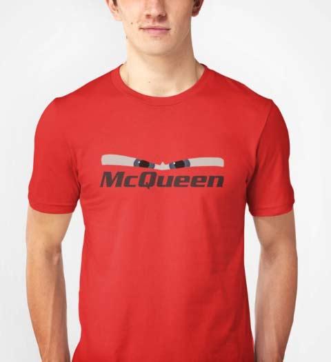 McQueen Cars Movie Shirt