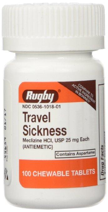 Meclizine Seasickness Pill