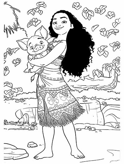 59 Moana Coloring Pages Updated October 2018