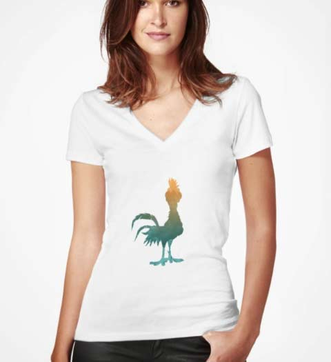 Moana Chicken T-Shirt