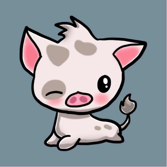 Moana Pua Pig! Funny Moana Shirt