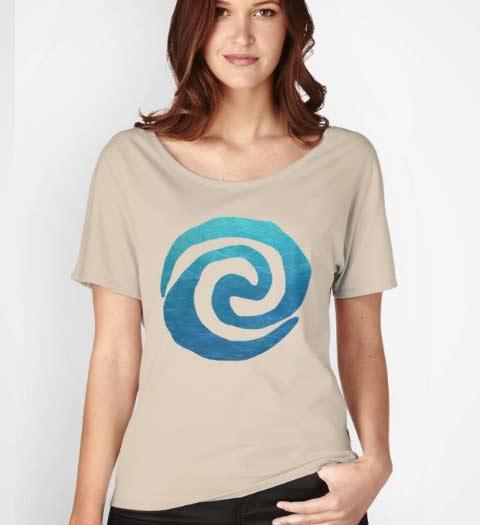 Ocean Spiral Moana Shirt