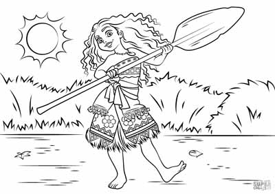 59 Moana Coloring Pages November 2017 Edition