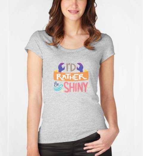 I'd Rather Be Shiny Moana Shirt