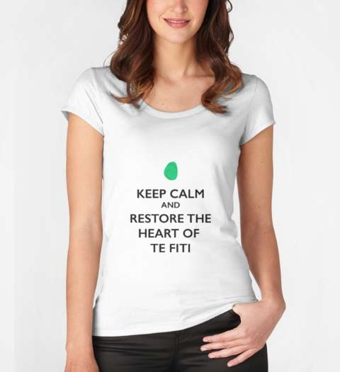 Keep Calm and Restore the Heart of Te Fiti: Moana Shirt