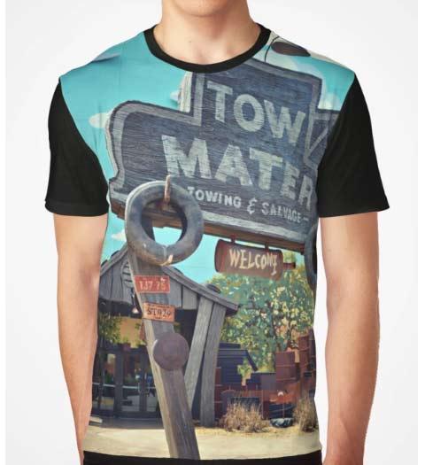 Tow Mater Cars Shirt