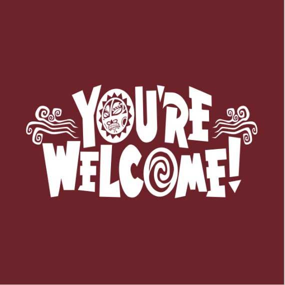 You're Welcome: Moana Shirt
