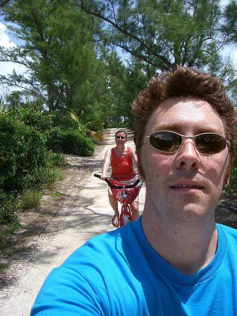 Bike on Castaway Cay