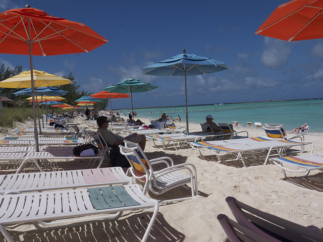 Castaway Cay Beach Chairs