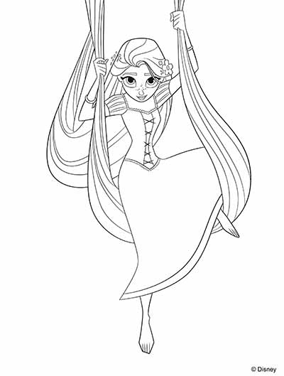 170 Free Tangled Coloring Pages March 2019