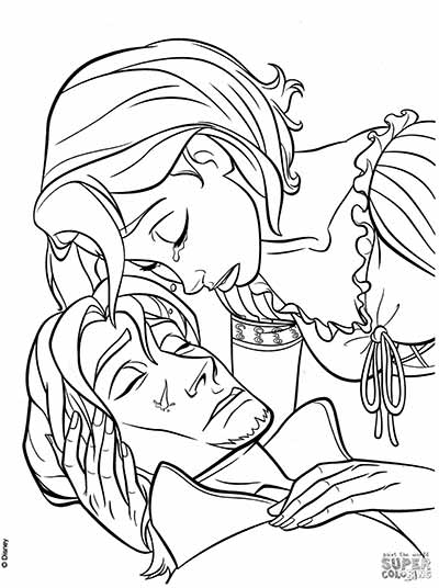 170 FREE Tangled Coloring Pages (August 2018) Rapunzel Coloring Pages