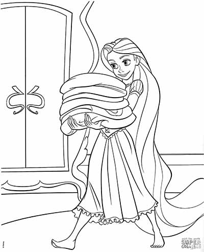 170 FREE Tangled Coloring Pages (October 2018) Rapunzel ...