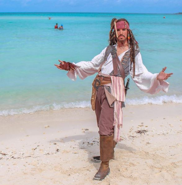 Castaway Cay Captain Jack Sparrow