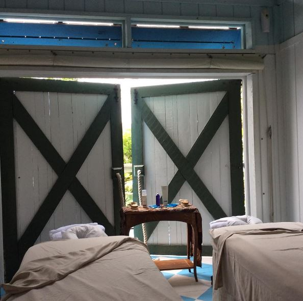 Castaway Cay Open Air Massage