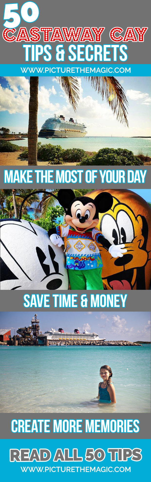 Wow! So many Castaway Cay tips...How to make the most of your day at Disney's private island!