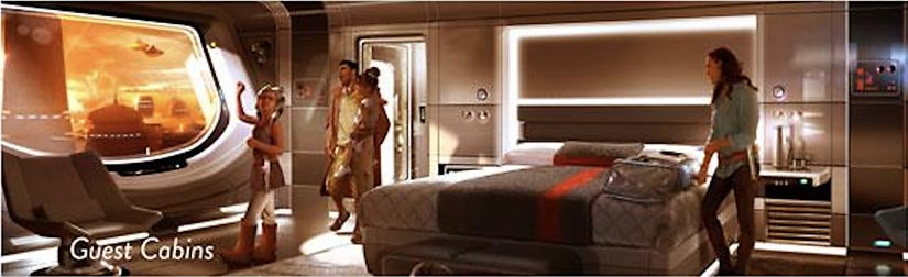 Star Wars Hotel Room