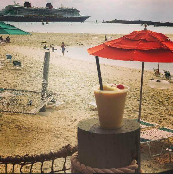 Konk Kooler on Castaway Cay