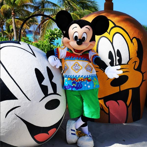 Mickey Mouse Castaway Cay