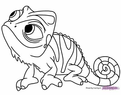 Pascal Coloring Pages from Tangled
