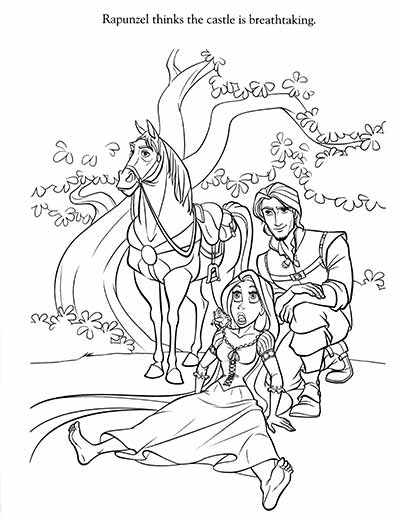 Tangle Coloring Pages