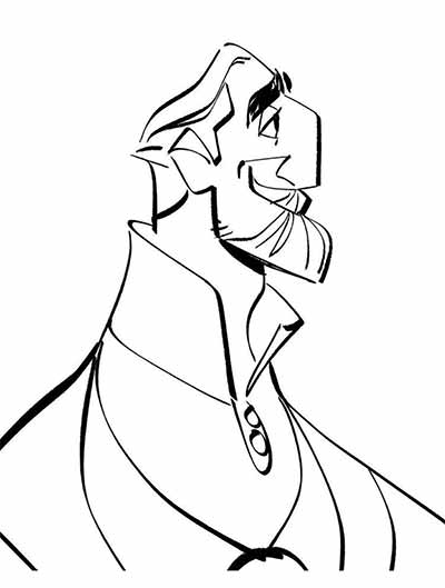 The King Coloring Pages from Tangled