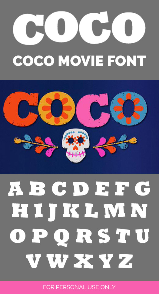 UPDATED: 59 Free Disney Fonts (September 2019 edition)