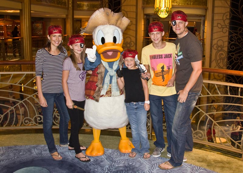Will there be a Pirate Night on my Disney Cruise?